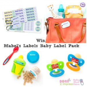 Personalize all your Baby Items with Mabel's Labels
