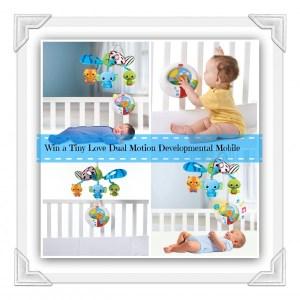 Loving the Tiny Love Dual Motion Developmental Mobile!