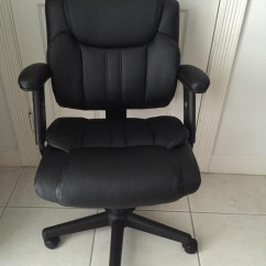 Staples Computer Chairs Tan Leather Dining Melbourne Telford Ii Luxura Managers Chair Review