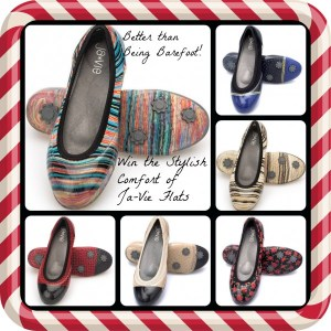 Born 2 Impress Holiday Gift Guide -Better than Bare Foot Ja-Vie Flats offers Style and Comfort