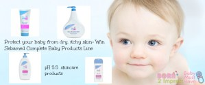 Protect your Baby Skin With the SebaMed pH 5.5 Skincare Product Line