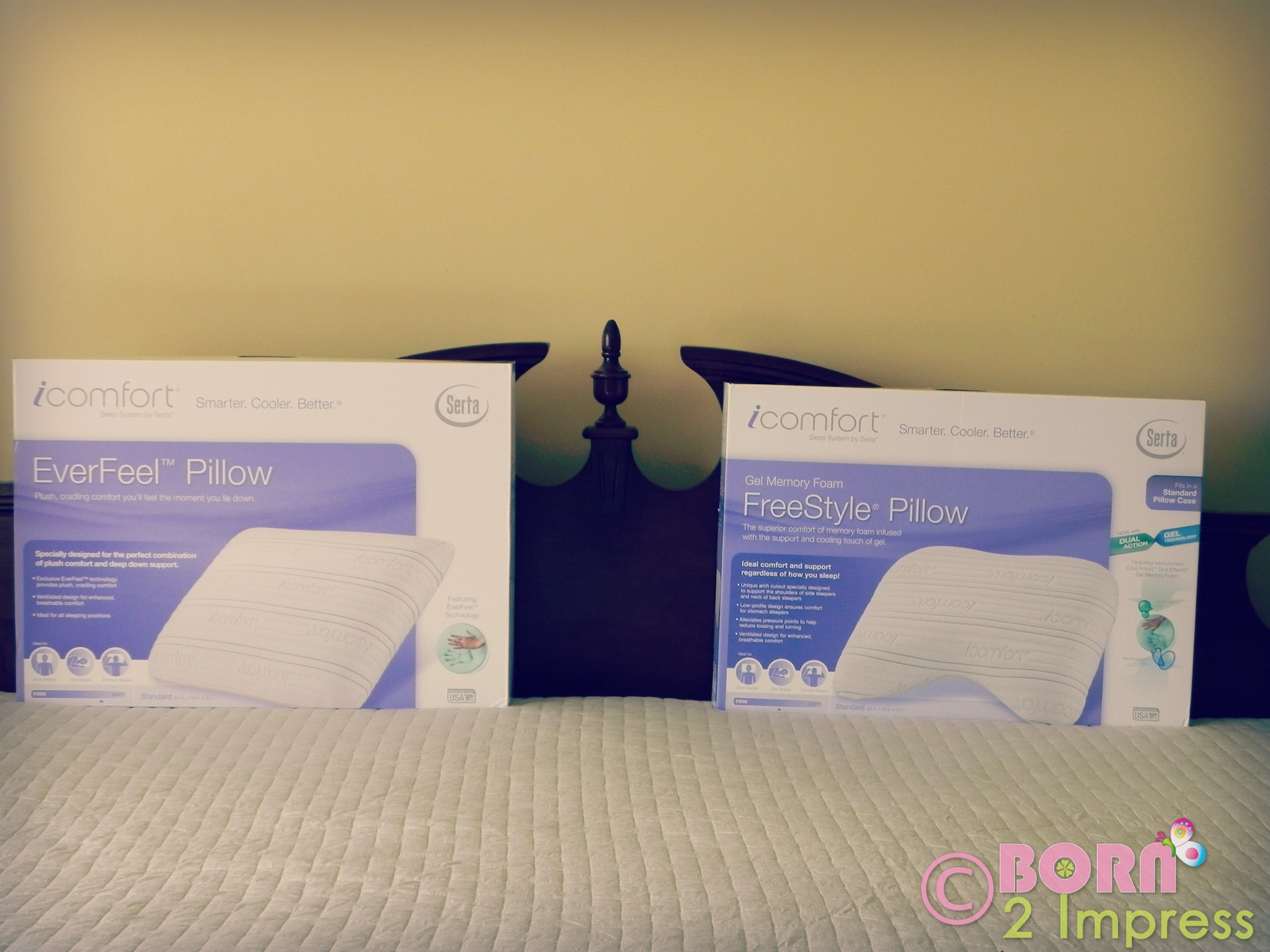 so i took a little challenge and decided i was going to find the perfect pillow for me and for this little experiment i tried three different serta pillows