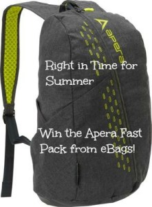 Searching for the Perfect Summer Bag and Travel Accessories! Win the  Apera Fast Pack from eBags