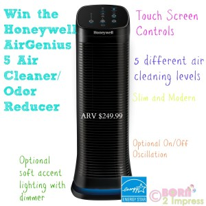 Honeywell AirGenius 5 Air Cleaner/Odor Reducer is Your Best Defense Against Allergens at Home!