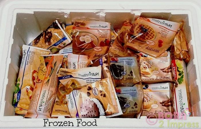 nutrisystem frozen