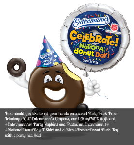 The sweetest holiday of them all is here – Friday, June 3rd is National Donut Day and it's Time to Get This Party Started With a Giveaway!
