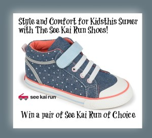 Style and Comfort for Kids with the See Kair Run this Summer-Win a Pair of Choice!
