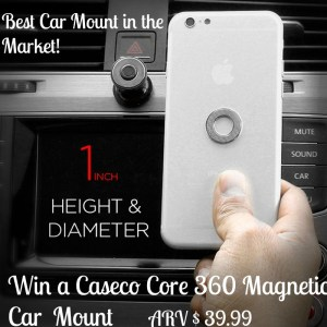Caseco Core 360 Magenetic Car Mount the Best Car Mount EVER!
