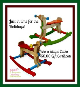 Holiday Shopping? Magic Cabin is your Prime Destination for Good Old Fashioned Toys and Crafts
