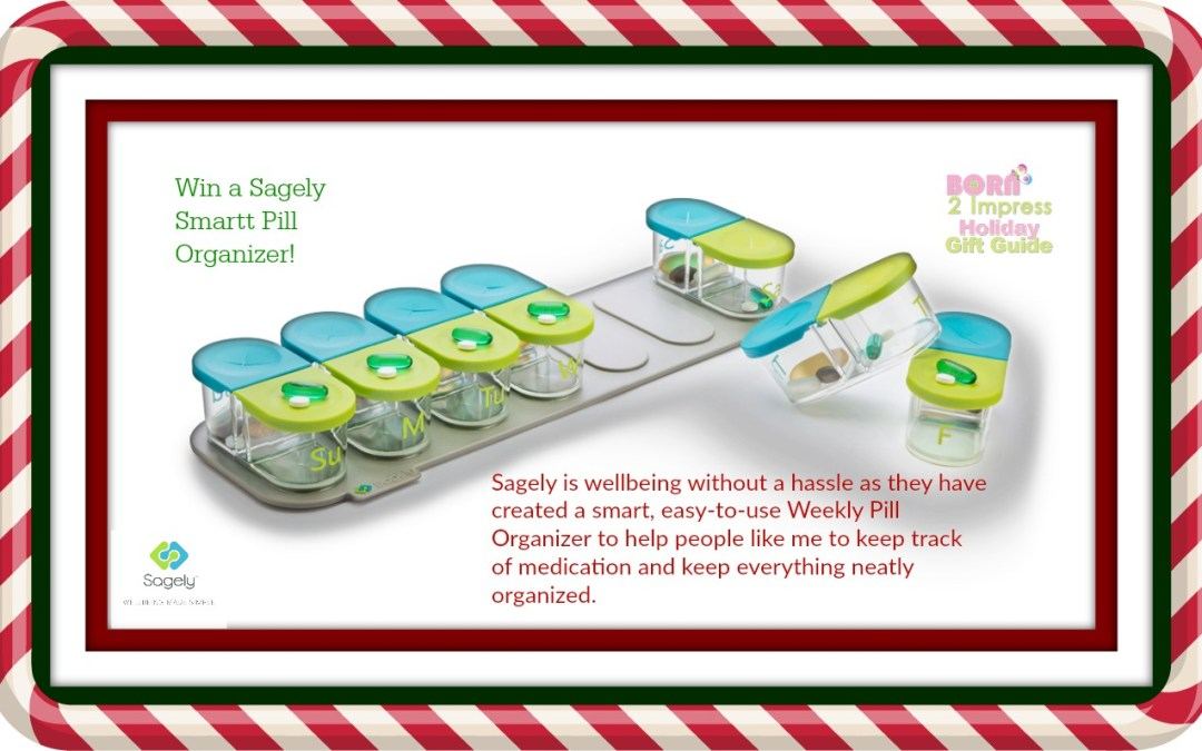 Think Outside the Box-Sagely Smart Weekly Pill Organizer for the Holidays!