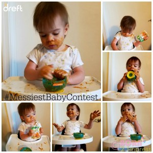 Enter the Dreft #MessiestBabyContest  and Twitter Party! #ad