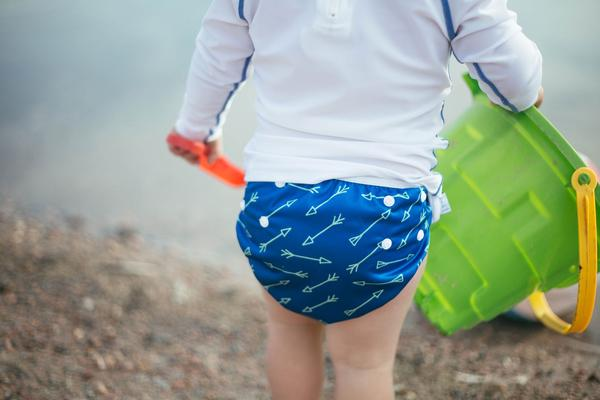 Beau & Belle Littles the Perfect Alternative to Disposable Swim Diapers!