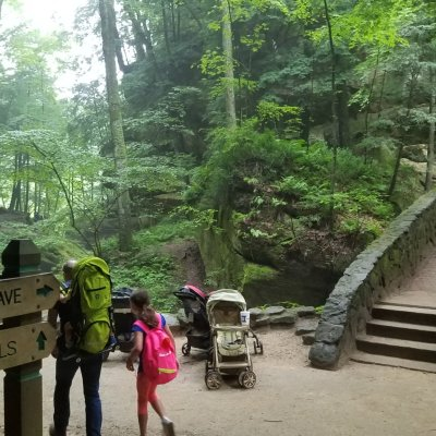 Our Family Hiking Trip To Hocking Hills Ohio