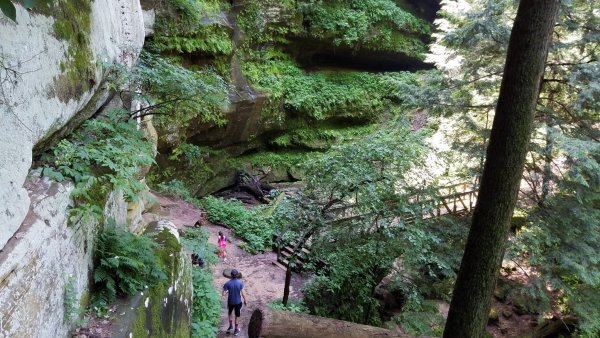 Rock House - Hocking Hills Park - Ohio