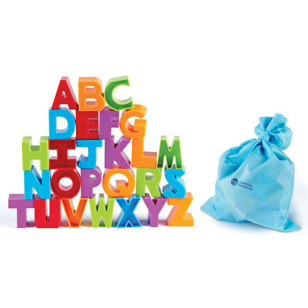 learn through play, pretend play alphabet