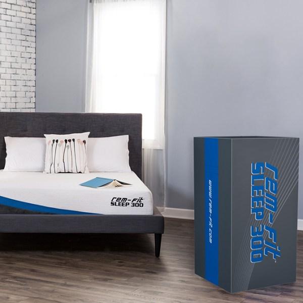 REM-Fit memory foam mattress