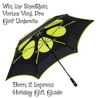 For the Golfer In Your Life -ShedRain Vortex Vent Pro Golf Umbrella