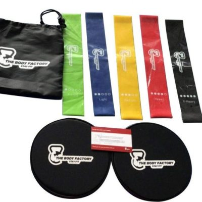 I Am Loving The Body Factory 5 Resistant Body Bands and Sliders For Fitness