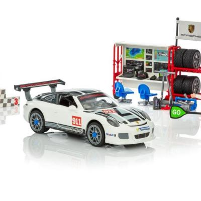 2018 Holiday Gift Guide-Fun on the Racetrack with the PLAYMOBIL Porsche 911 GT3 Cup