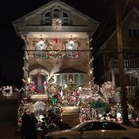 Dyker Heights Christmas Lights: A Poem