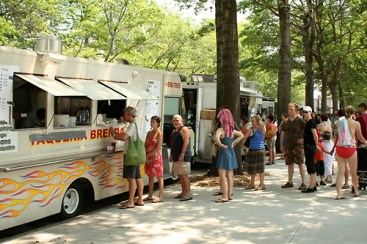 Sunday (Noon): Red Hook Food Vendors - Red Hook Recreation Fields