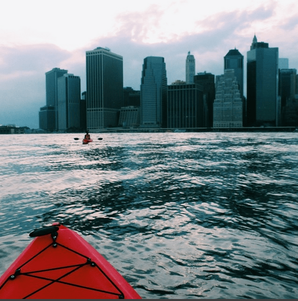 Thursday (5:30pm): Kayak on the East River with an amazing view of the Manhattan Skyline. Free!