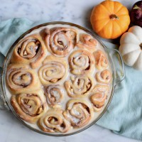Apple Butter Cinnamon Buns