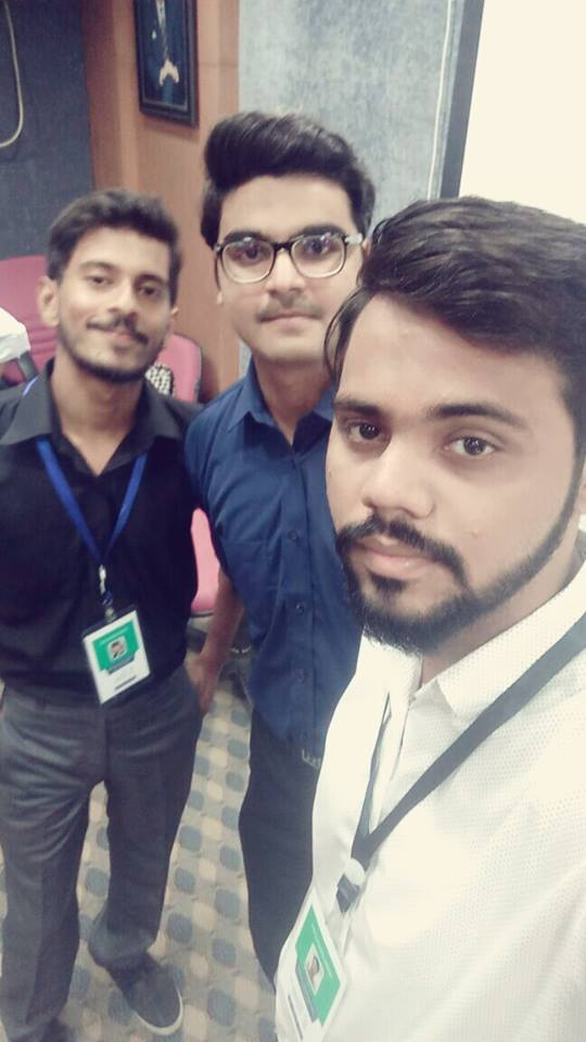 Syed Faizan Ali's Team at the Workshop!