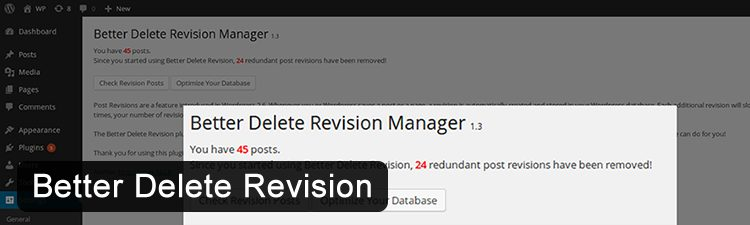 Removing Old Post Revisions