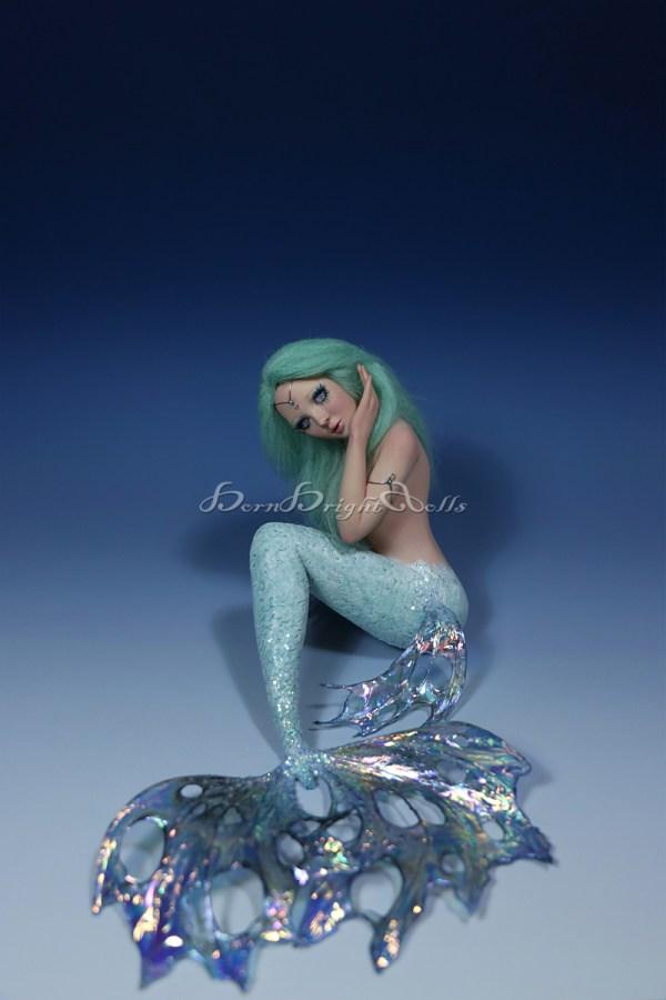 Mermaid OOAK Art Doll Fairy