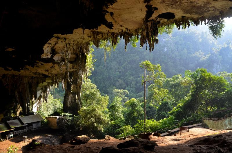 Niah Great Cave, Niah National Park, Sarawak Province, Malaysian Borneo