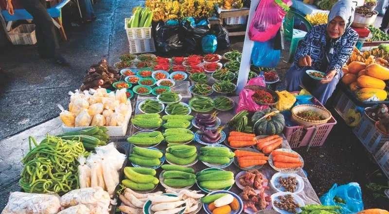 Market in Bandar Seri Begawan, Brunei