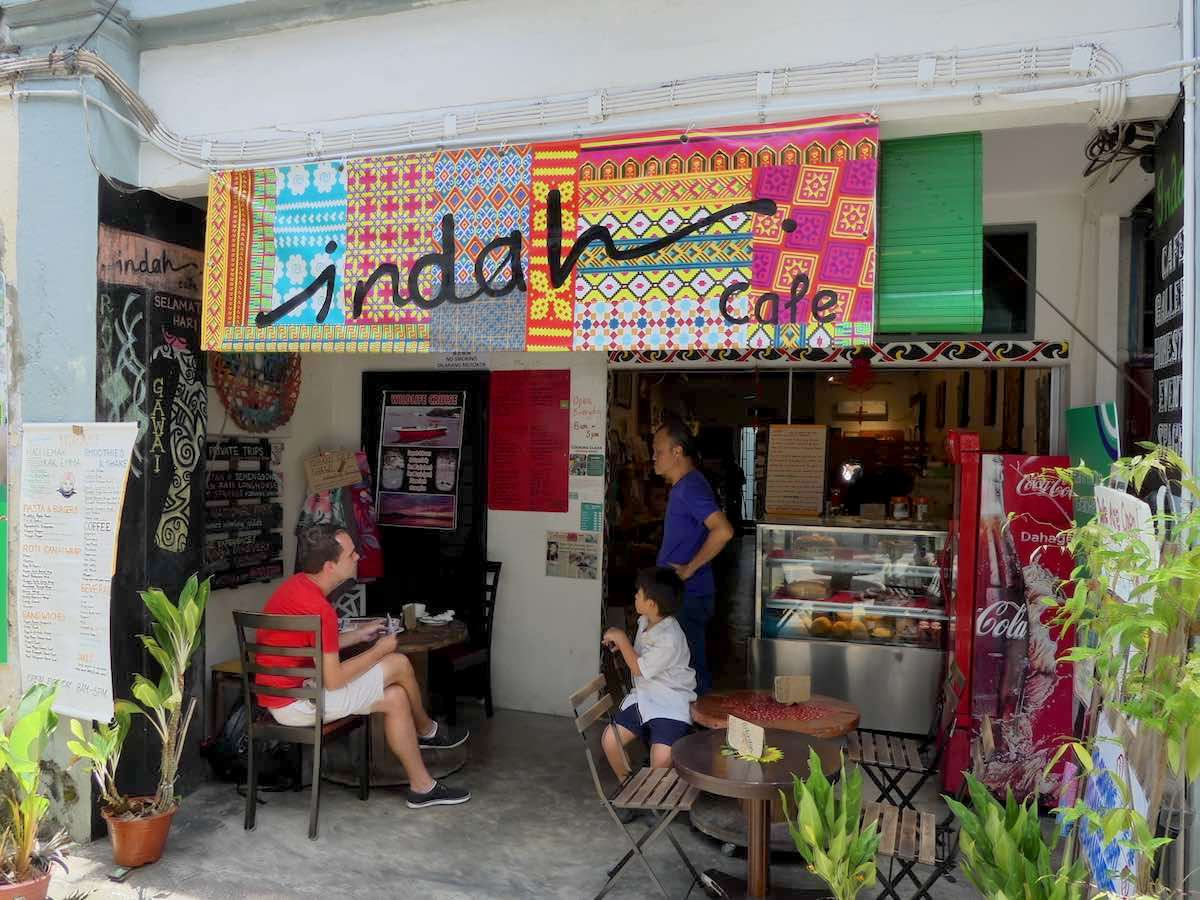 Indah Cafe Kuching food