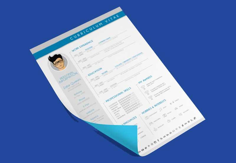 Download 30 Contoh Cv Dalam Bahasa Inggris Professional Dan Menarik