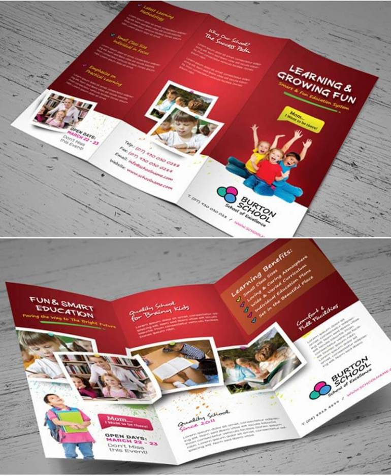 Contoh brosur pendidikan dalam bahasa inggris
