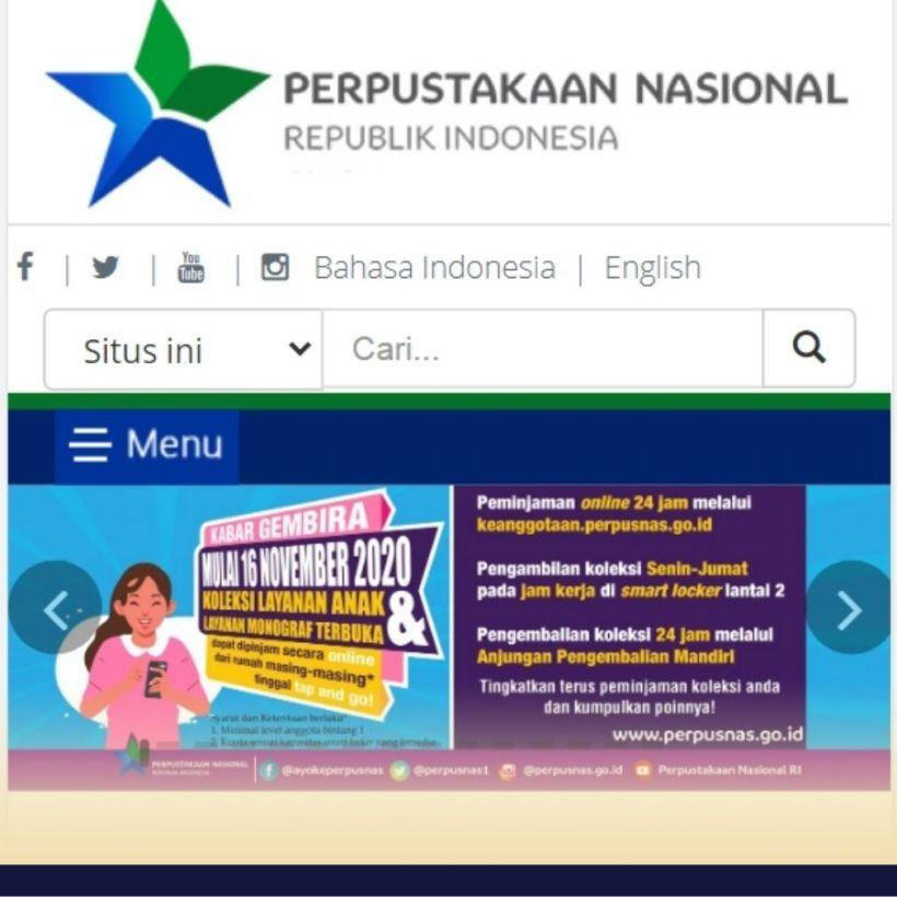 perpustakaan nasional online
