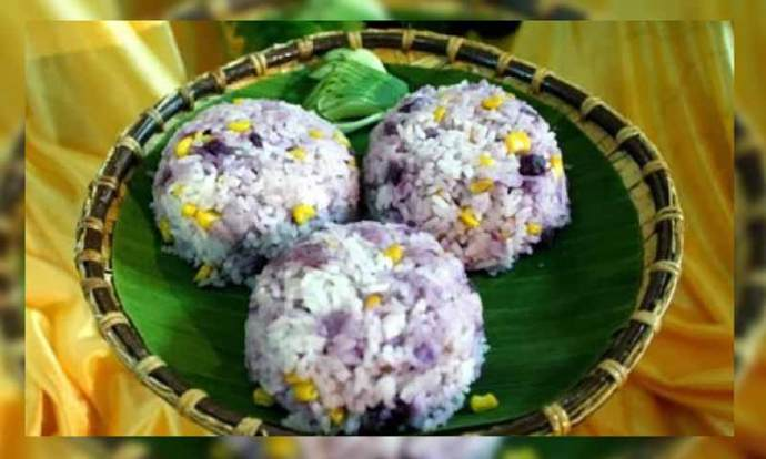 Kuliner khas kalimantan utara, nasi subut