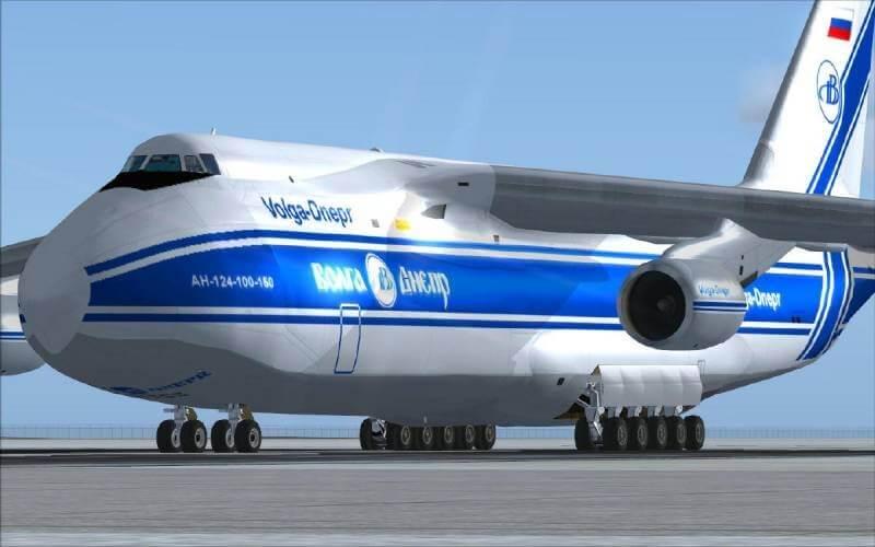 pesawat terbesar di dunia Antonov An-124