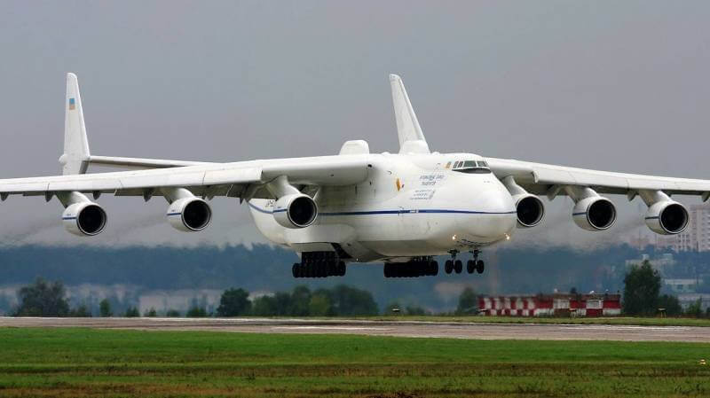 pesawat terbesar di dunia Antonov An-225 Mriya