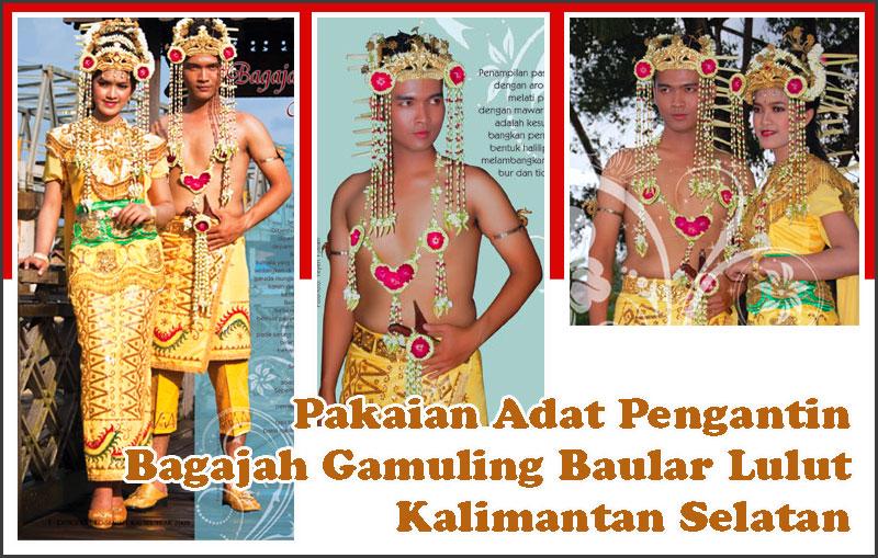 Pakaian Adat Kalimantan Selatan