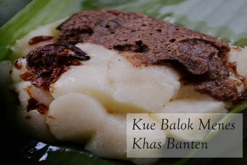 Jajanan khas Banten