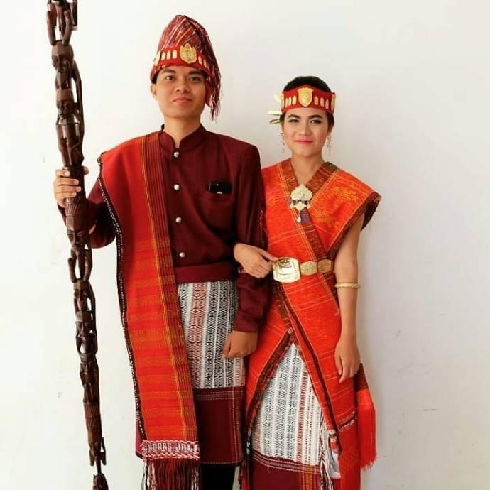 Mewarnai Pakaian Adat Batak Toba Baju Adat Tradisional