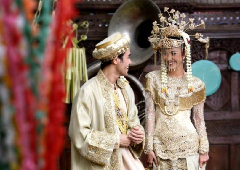 busana pengantin betawi