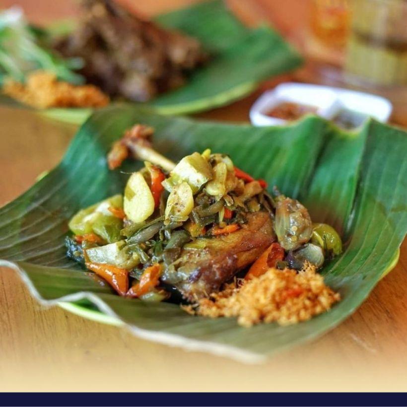 makanan khas madura nasi jagung