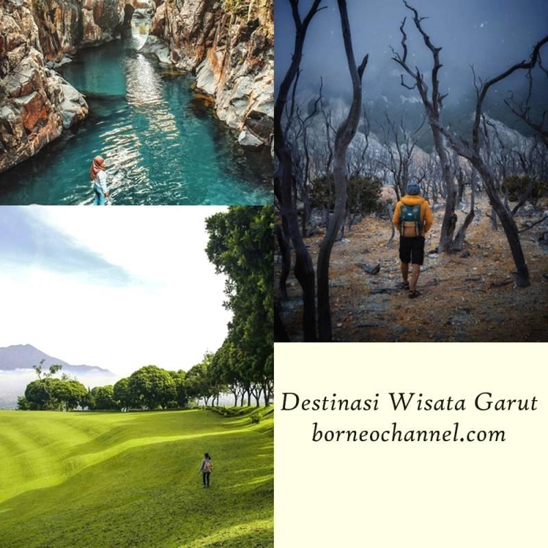 [Terupdate] 15 Daftar Tempat Wisata di Garut Kekinian, Peta Wisata Garut