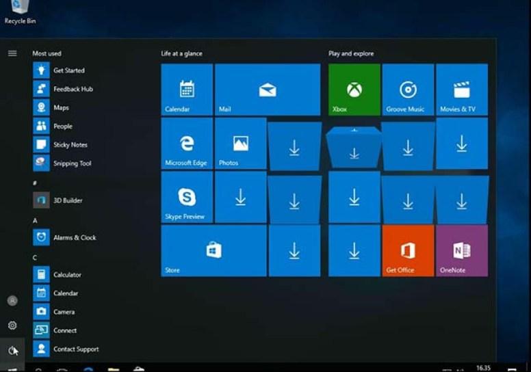 selesai install windows 10