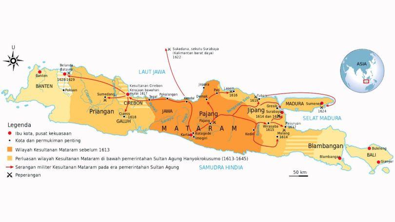 wilayah kerajaan islam mataram