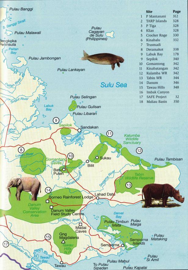 East Sabah Map