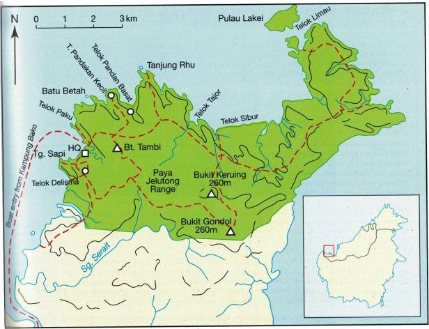 Bako Sarawak Map.jpg