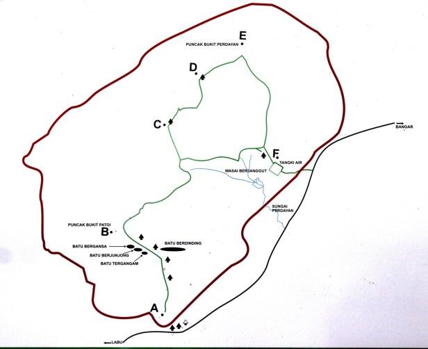 Bukit Patoi Map